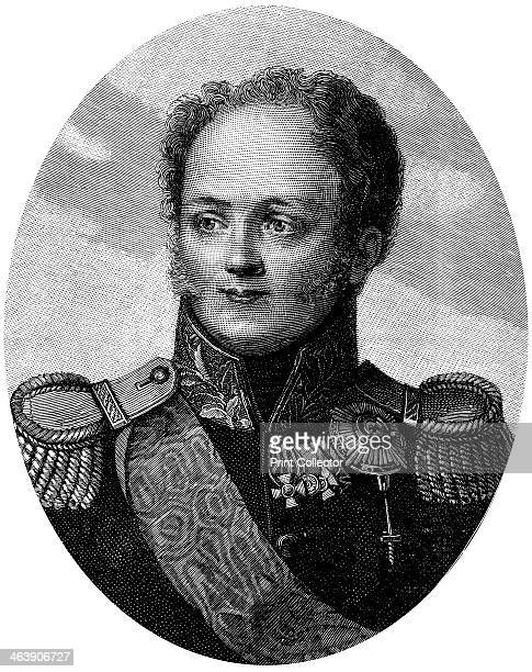 Alexander I Tsar of Russia from 1801 in military uniform Alexander ascended to the throne after the murder of his father Paul I He was initially a...