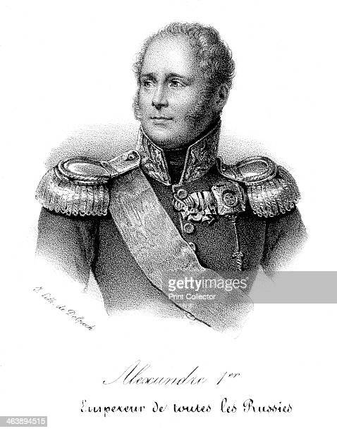 Alexander I Tsar of Russia from 1801 in military uniform c1830 Alexander ascended to the throne after the murder of his father Paul I He was...