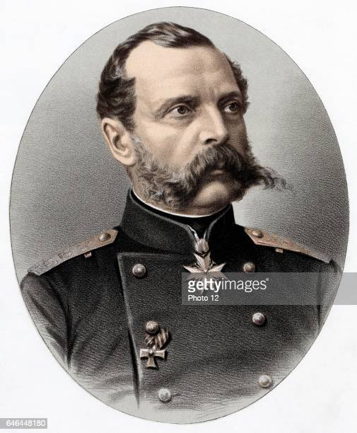Alexander II Tsar of Russia from 1855 Known as 'The Liberator' Emancipated the serfs in 1861 Assassinated Photo12/UIG via Getty Images