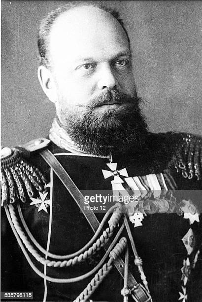 Alexander III Alexandrovich son and successor of Tsar Alexander II Nikolaievich Emperor of Russia from 1881 to 1894 Married Maria Feodorovna née...