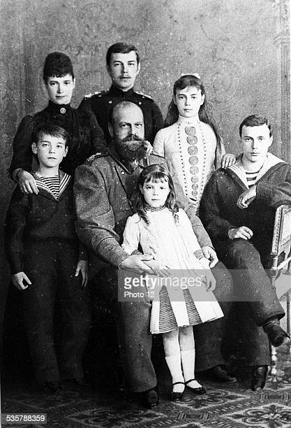 Alexander III and his family Alexander III Alexandrovich Son and successor of Tsar Alexander II Nikolaievich Married Maria Feodorovna in October 1866...
