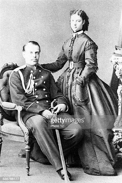 Alexander III Emperor of Russia and Marie Féodorowna Empress Alexander III Alexandrovitch born in SaintPetersbourg in 1845 and died in 1894 in...