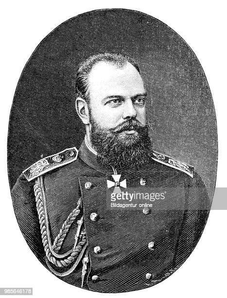Alexander III March 10 1845 November 1 came from the house of RomanovHolsteinGottorp and from 1881 to 1894 was emperor of Russia digital improved...