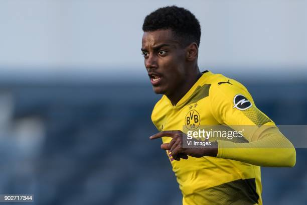 Alexander Isak of Borussia Dortmund during the friendly match between Borussia Dortmund and Zulte Waregem at the Estadio Municipal Marbella on...