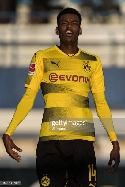 Alexander Isak of Borussia Dortmund during the friendly match between Borussia Dortmund and Zulte Waregem at the Estadio Municipal Marbella on...