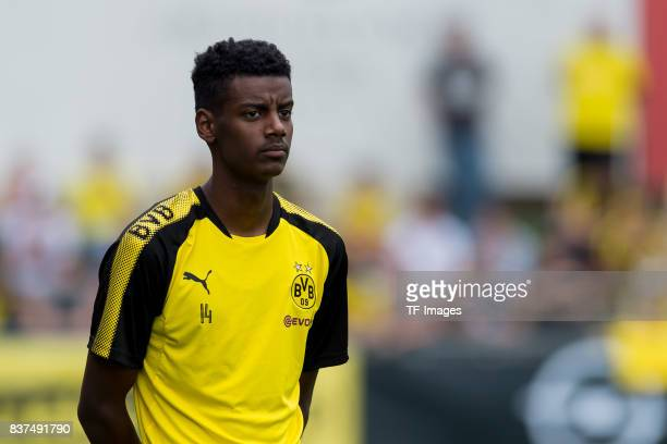 Alexander Isak of Dortmund looks on during a training session as part of the training camp on July 31 2017 in Bad Ragaz Switzerland