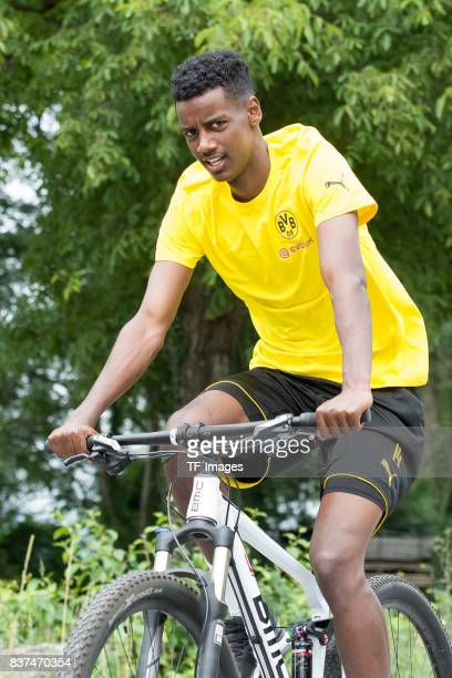 Alexander Isak of Dortmund on his way to the next training session as part of the training camp on July 27 2017 in Bad Ragaz Switzerland