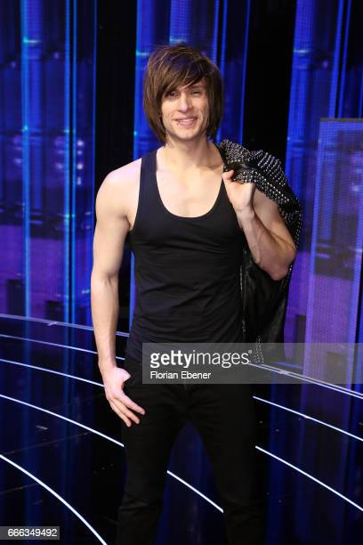 Alexander Jahnke during the first event show of the tv competition 'Deutschland sucht den Superstar' at Coloneum on April 8 2017 in Cologne Germany...