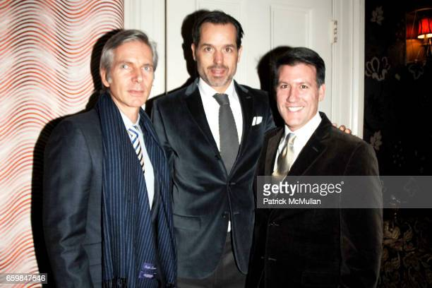 Alexander Jakowec Steven Gambil and Michael Bruno attend Launch Party for AMY LAU's Newest Collection for S HARRIS at The Norwood Club on November 16...