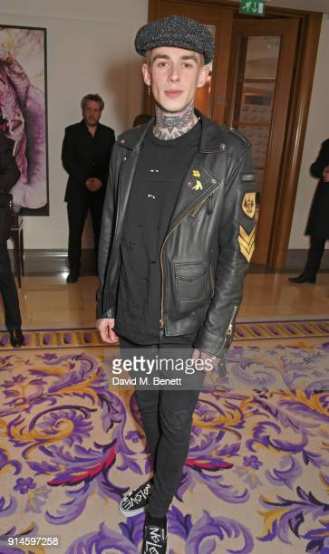 Alexander James attends the GQ Car Awards 2018 in association with Michelin at Corinthia London on February 5 2018 in London England
