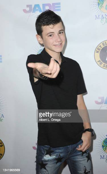Alexander James Rodriguez attends the EP Release Party for Jade Patteri held at The Federal NoHo on September 21, 2021 in North Hollywood, California.