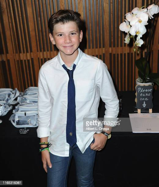 Alexander James Rodriguez attends the Special Listening Session By Tiana Kocher held at Westlake Recording Studios on August 31 2019 in West...