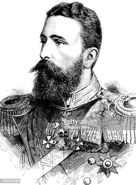 Alexander joseph von battenberg alexander i prince of bulgaria historical illustration circa 1886