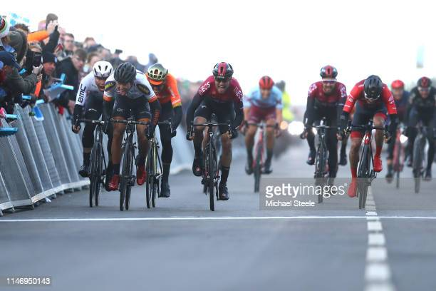 Alexander Kamp Egested of Denmark and Riwal Readynez Cycling Team / Christopher Lawless of United Kingdom and Team INEOS / Greg Van Avermaet of...