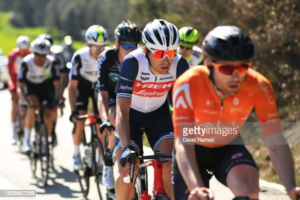 Alexander Kamp Egested of Denmark and Team Trek - Segafredo during the 100th Volta Ciclista a Catalunya 2021, Stage 3 a 203,1km stage from Canal...