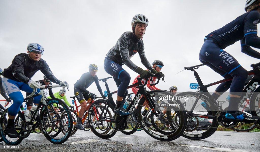 Alexander Kamp of Team Virtu Cycling in action during stage two of Tour of Denmark PostNord Danmark Rundt 2017 from Svendborg to Odense on September 13, 2017 in Svendborg, Denmark.