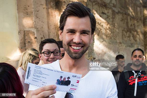 Alexander Keen during the finals of 'Germany's Next Topmodel' at Coliseo Balear on May 12 2016 in Palma de Mallorca Spain