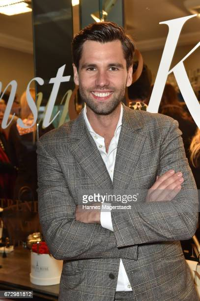 Alexander Keen during the 'Kunst Kleid' fashion cocktail on April 25 2017 in Munich Germany