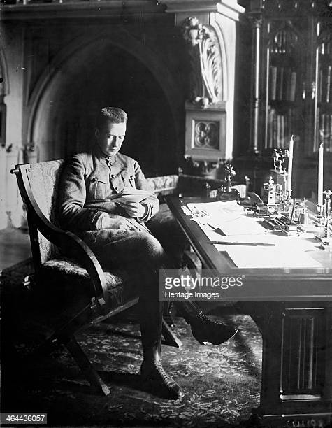 Alexander Kerensky Prime Minister of the Russian Provisional Government in his office in the Winter Palace in Petrograd Russia 1917 Kerensky Kerensky...