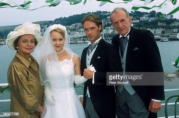 Alexander Kerst Matthias Schloo Floriane Daniel Nadja Tiller ZDFPilcherFilm Wind über dem Fluss Südengland/England/Großbritannien Hochzeit...