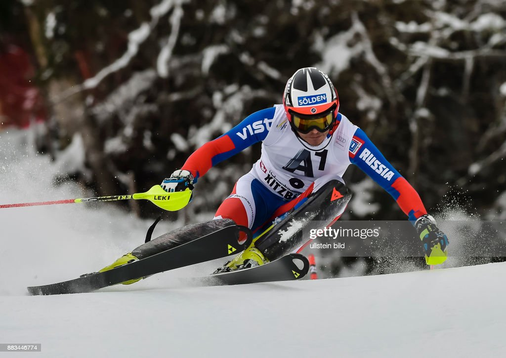 Alexander Khoroshilov In Aktion Waehrend Dem Fis Slalom Ski Weltcup News Photo Getty Images