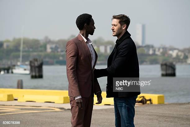 THE BLACKLIST Alexander Kirk Episode 322 Pictured Edi Gathegi as Mr Solomon Ryan Eggold as Tom Keen