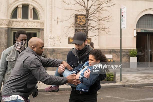 THE BLACKLIST Alexander Kirk Episode 322 Pictured Edi Gathegi as Mr Solomon Terence Archie as Zack Loescher Ryan Eggold as Tom Keen Anais and...
