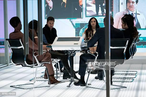 THE BLACKLIST Alexander Kirk Episode 322 Pictured Ryan Eggold as Tom Keen Famke Janssen as Susan Scottie Hargrave Mozhan Marno as Samar Novabi