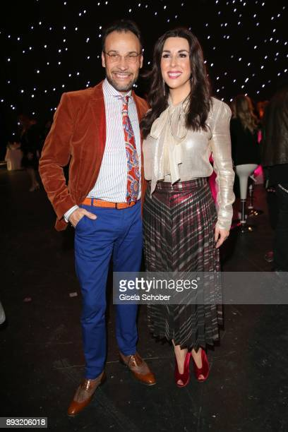 Alexander Klaus Stecher and his wife Judith Williams during the 23th annual Jose Carreras Gala after party at Bavaria Filmstudios on December 14 2017...