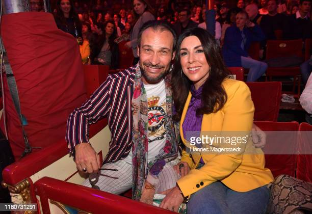 Alexander Klaus Stecher and Judith Williams during the premiere of Circus Roncalli's Storyteller Gestern Heute Morgen on October 12 2019 in Munich...