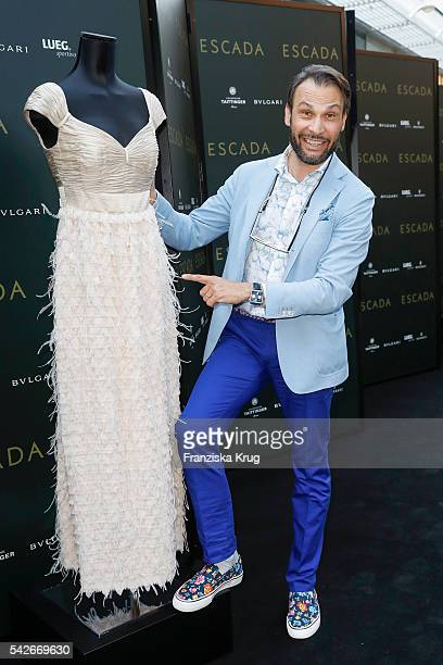 Alexander Klaus Stecher attends the ESCADA Flagship Store Opening on June 23 2016 in Duesseldorf Germany