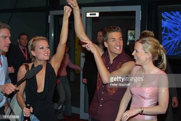 Alexander Klaws Finalistin Juliette Schoppmann ModeratorenPaar des Fernsehsenders VOX Deutschland sucht den SuperstarMagzin AftershowParty nach...