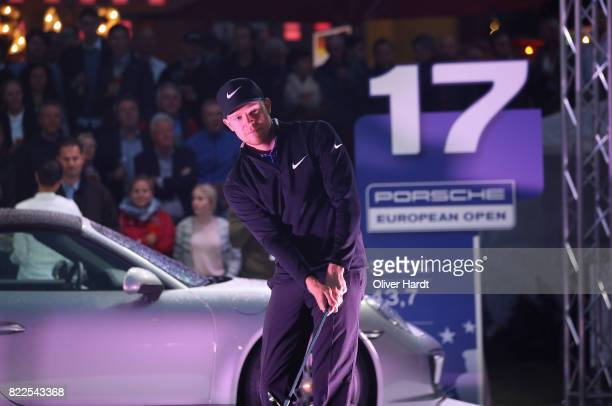 Alexander Knappe of Germany attends the Porsche European Open Team Challenge at Spielbudenplatz on July 25 2017 in Hamburg Germany