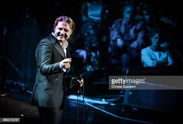 Alexander Kogan performs on stage at Royal Albert Hall on May 13 2014 in London United Kingdom