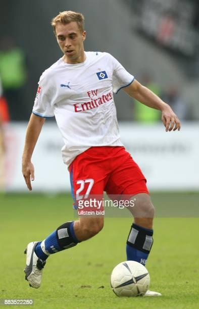 Alexander LAAS Mittelfeldspieler Hamburger SV D in Aktion am Ball