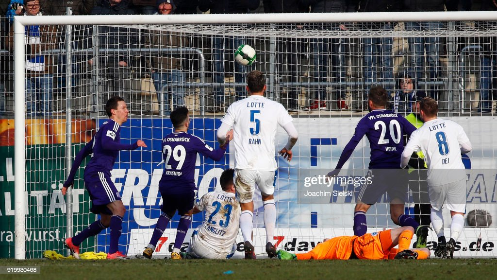Sportfreunde Lotte v VfL Osnabrueck - 3. Liga