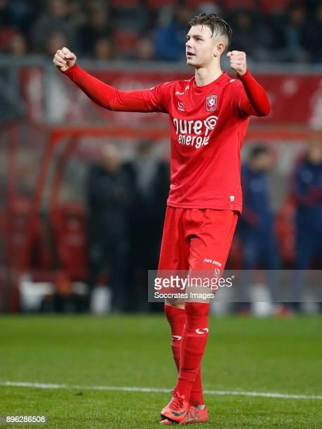 Alexander Laukart of FC Twente during the Dutch KNVB Beker match between Fc Twente v Ajax at the De Grolsch Veste on December 20 2017 in Enschede...