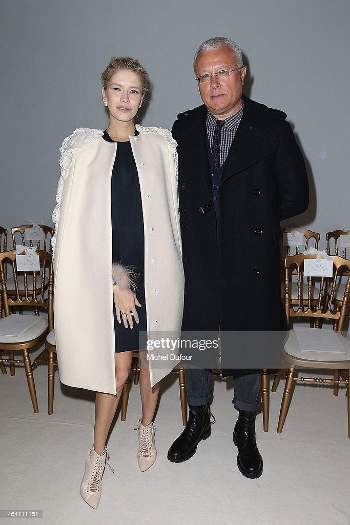 Giambattista Valli : Front Row - Paris Fashion Week - Haute Couture S/S 2014
