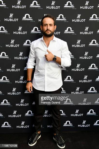 Alexander Levy attends the launch of Hublot x Champion Spirit on June 27 2019 in Paris France