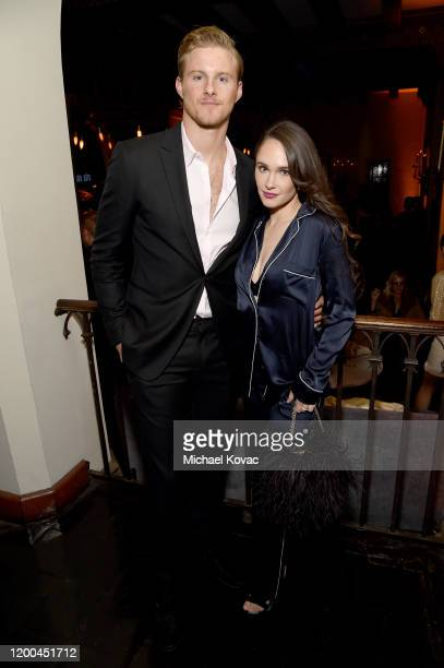 Alexander Ludwig and Kristy Dawn Dinsmore are seen as Entertainment Weekly Celebrates Screen Actors Guild Award Nominees at Chateau Marmont on...