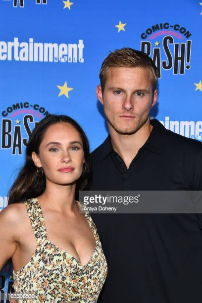 Alexander Ludwig and Kristy Dawn Dinsmore at the Entertainment Weekly ComicCon Celebration at Float at Hard Rock Hotel San Diego on July 20 2019 in...
