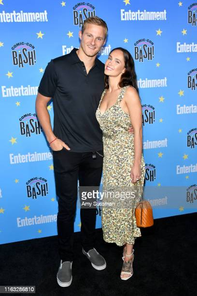 Alexander Ludwig and Kristy Dawn Dinsmore attend Entertainment Weekly's ComicCon Bash held at FLOAT Hard Rock Hotel San Diego on July 20 2019 in San...