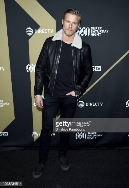 Alexander Ludwig attends DIRECTV Super Saturday Night 2019 at Atlantic Station on February 2, 2019 in Atlanta, Georgia.