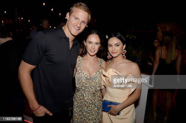 Alexander Ludwig Kristy Dawn Dinsmore and Camila Mendes attend Entertainment Weekly's ComicCon Bash held at FLOAT Hard Rock Hotel San Diego on July...