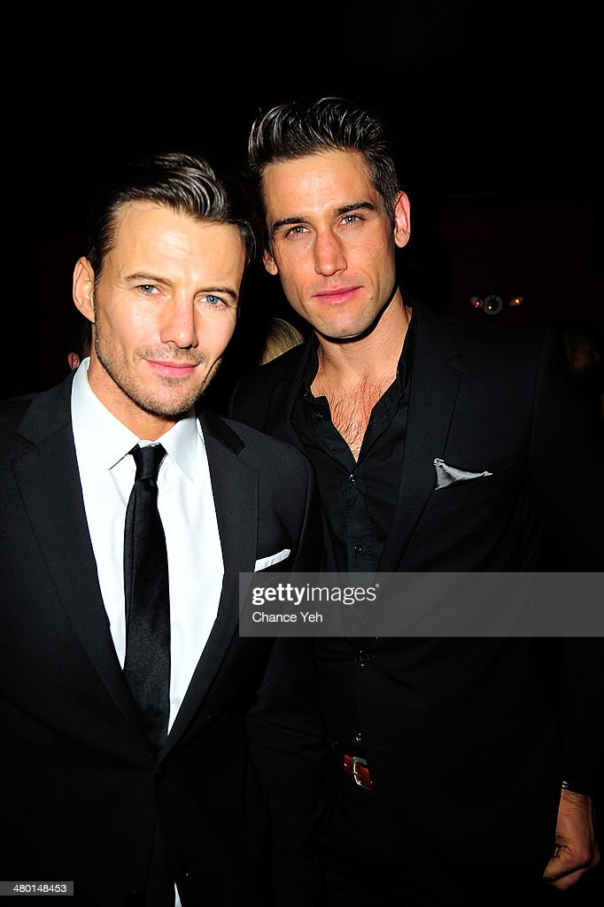 Alexander Lundqvist and Bryce Thompson attend 2nd Supermodel Saturday at No.8 on March 22, 2014 in New York City.