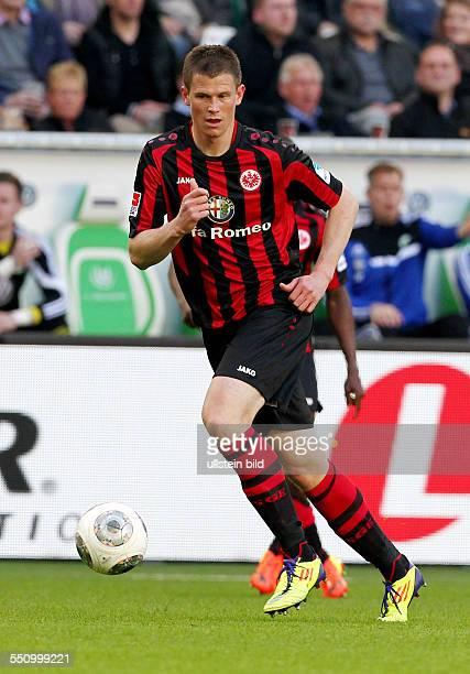 Alexander Madlung, Einzelbild, Freisteller, Aktion , Sport, Fußball Fussball, erste 1.Bundesliga Herren, Saison 2013 VfL Wolfsburg vs. SG Eintracht...