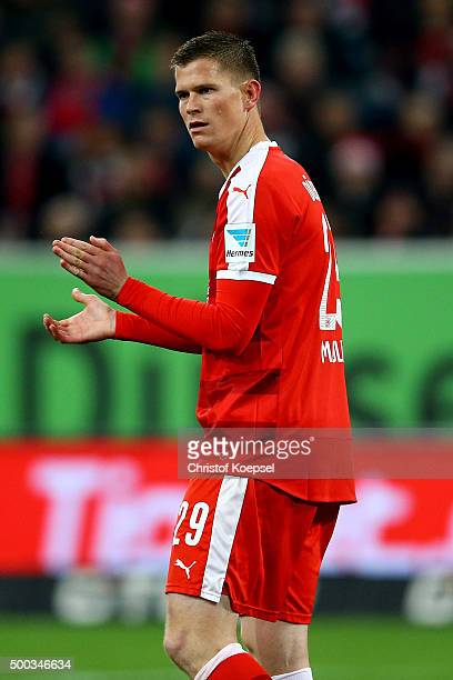 Alexander Madlung of Duesseldorf is seen during the Second Bundesliga match between Fortuna Duesseldorf and Eintracht Braunschweig at Esprit-Arena on...