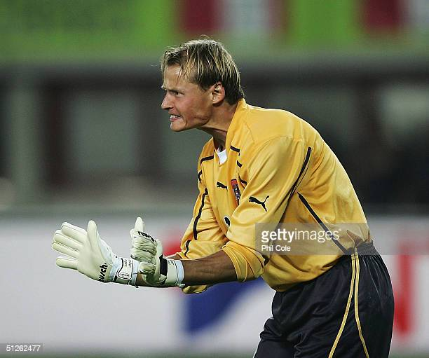 Alexander Manning of Austria during the Group 6 World Cup Qualifying match between Austria and England at the Ernest Happel Stadium on September 4,...