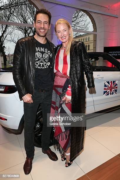 Alexander Mazza and Prinzessin Lilly zu SaynWittgensteinBerleburg during the opening of the Jaguar Land Rover British Style Week In Munich on May 3...