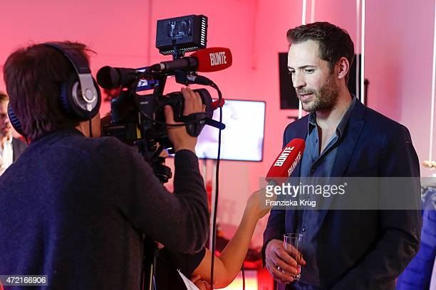 Alexander Mazza attends the OTTO Exclusive Sport Cooperation celebrations on May 04 2015 in Munich Germany